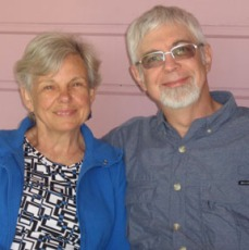 Susan Fries (l) & Lew Bowers (r)