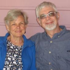 Susan Fries (l) & Lew Bowers (r)